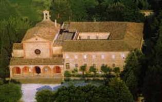 Vista anteriore Convento dei padri Cappuccini